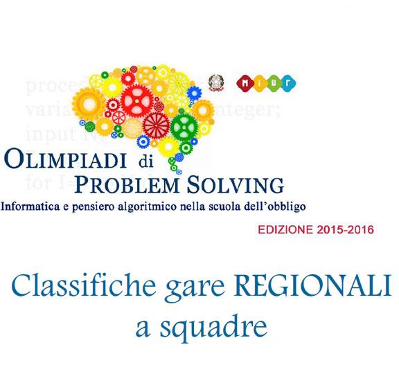 classifica olimpiadi problem solving 2015